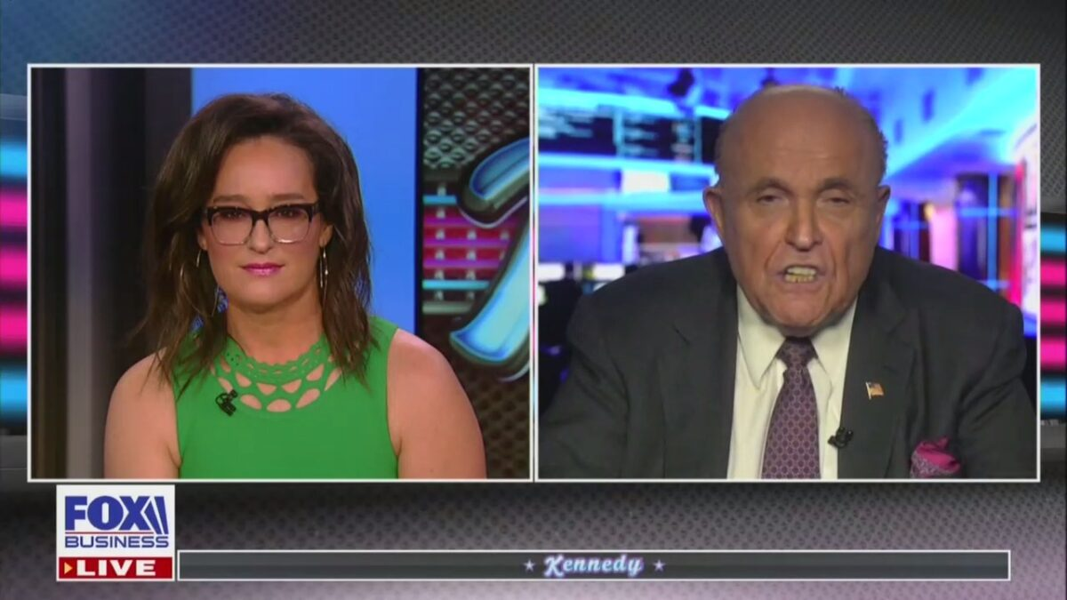Fox's Kennedy Confronts a Rudy Giuliani on Borat Scenesubscribesubscribe