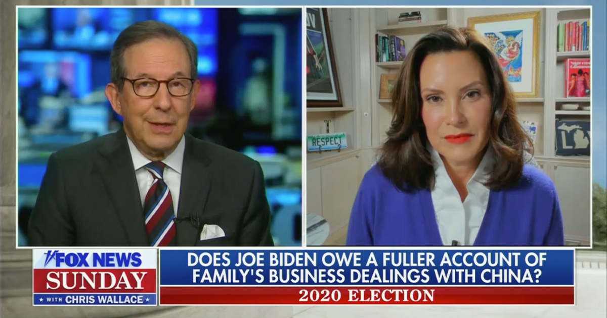 Chris Wallace: Doesn't Joe Biden 'Owe a Fuller Accounting' of His Son's Business Dealings While He Was VP?