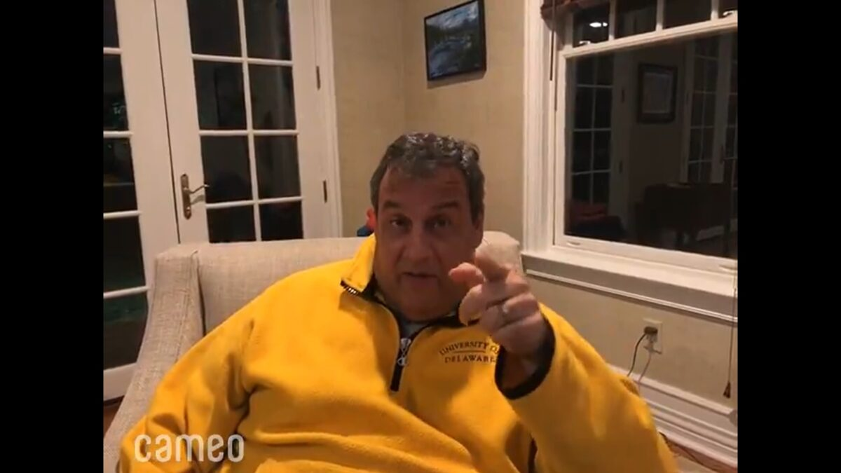Chris Cooney Trolls GOP Opponent With Chris Christie Cameo Vid Telling Him to Go Back to Jersey