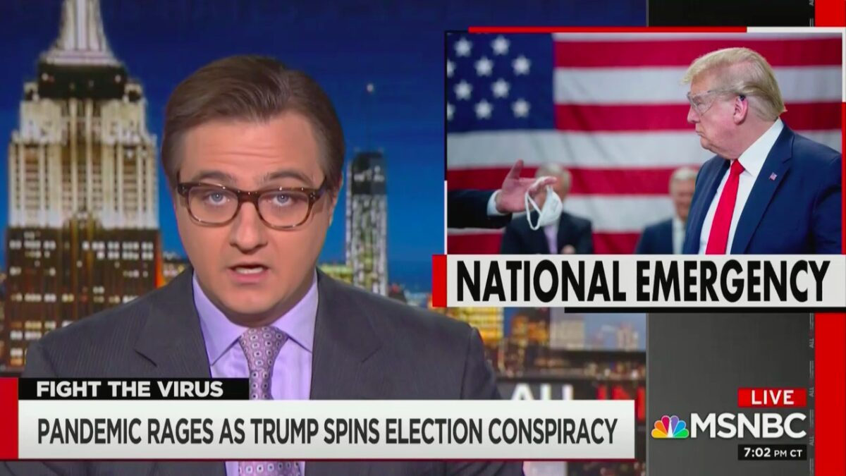 Chris Hayes Slams Trump Admin for 'Surrendering' to Pandemic