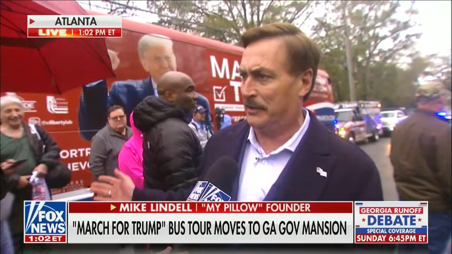 Mike Lindell Says Trump Will Be Pres For Next Four Years
