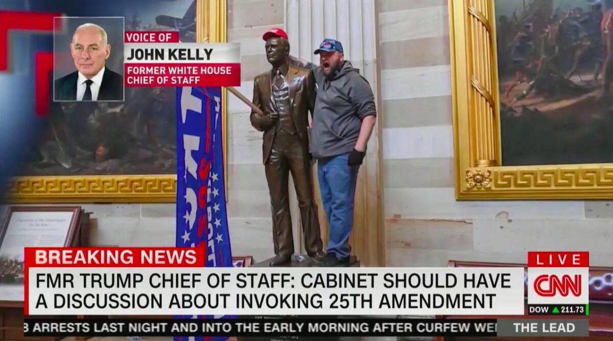 John Kelly Would Vote to Remove Trump via 25th Amendment