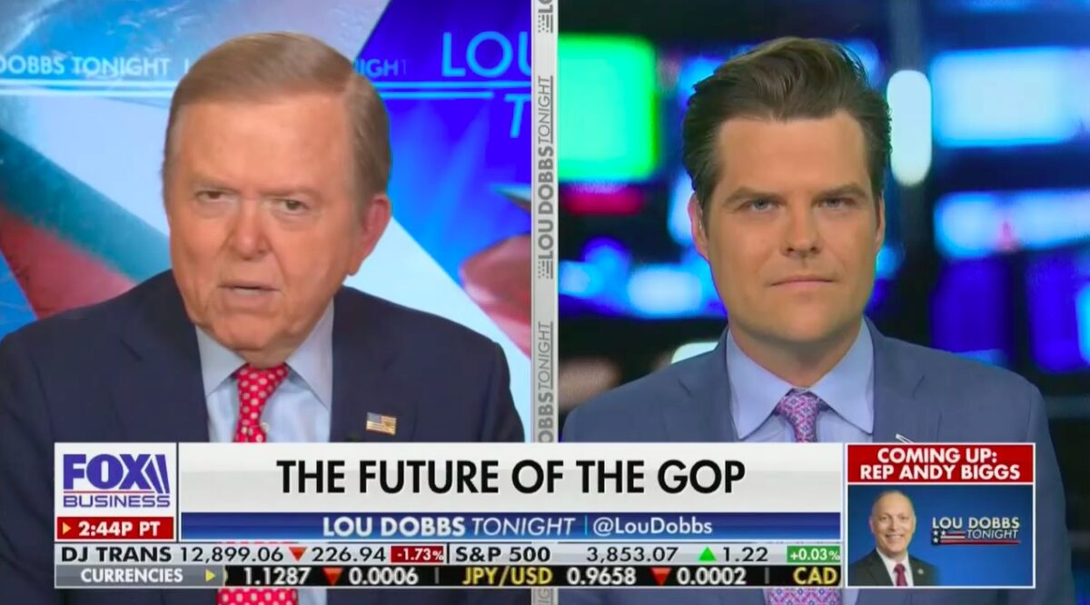Lou Dobbs Says 'Real Likelihood' of Pro-Trump Patriot Party