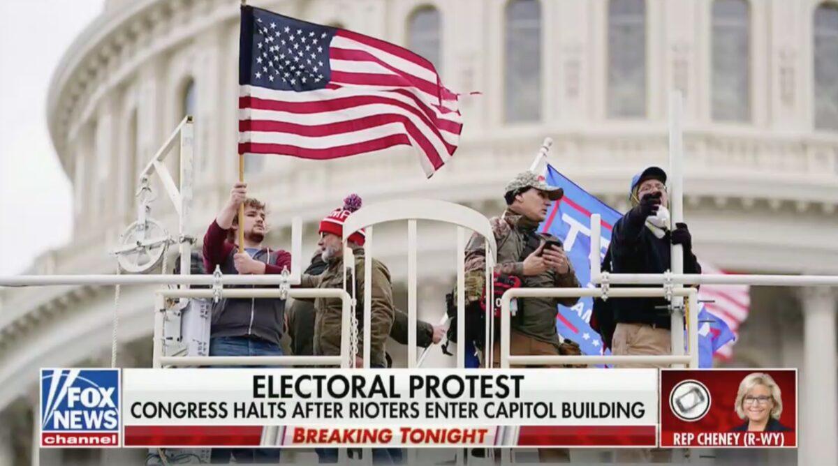 Liz Cheney: Trump Bears Responsibility for Capitol Mob