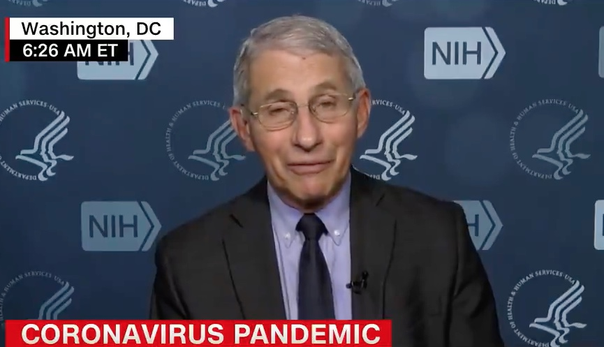 Dr. Fauci Tells CNN: The 'Lack of Candor' Under the Trump Administration 'Very Likely' Cost Lives to Covid-19