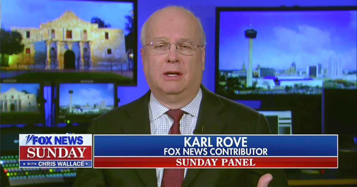 Karl Rove: GOP in the Midst of 'Civil War'