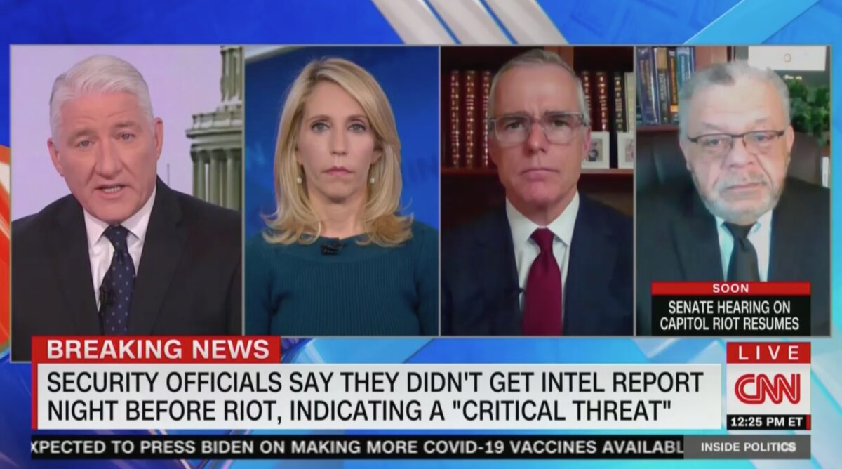 CNN Panel Shocked by Security Officials Claiming Intelligence Breakdown Before Capitol Riot