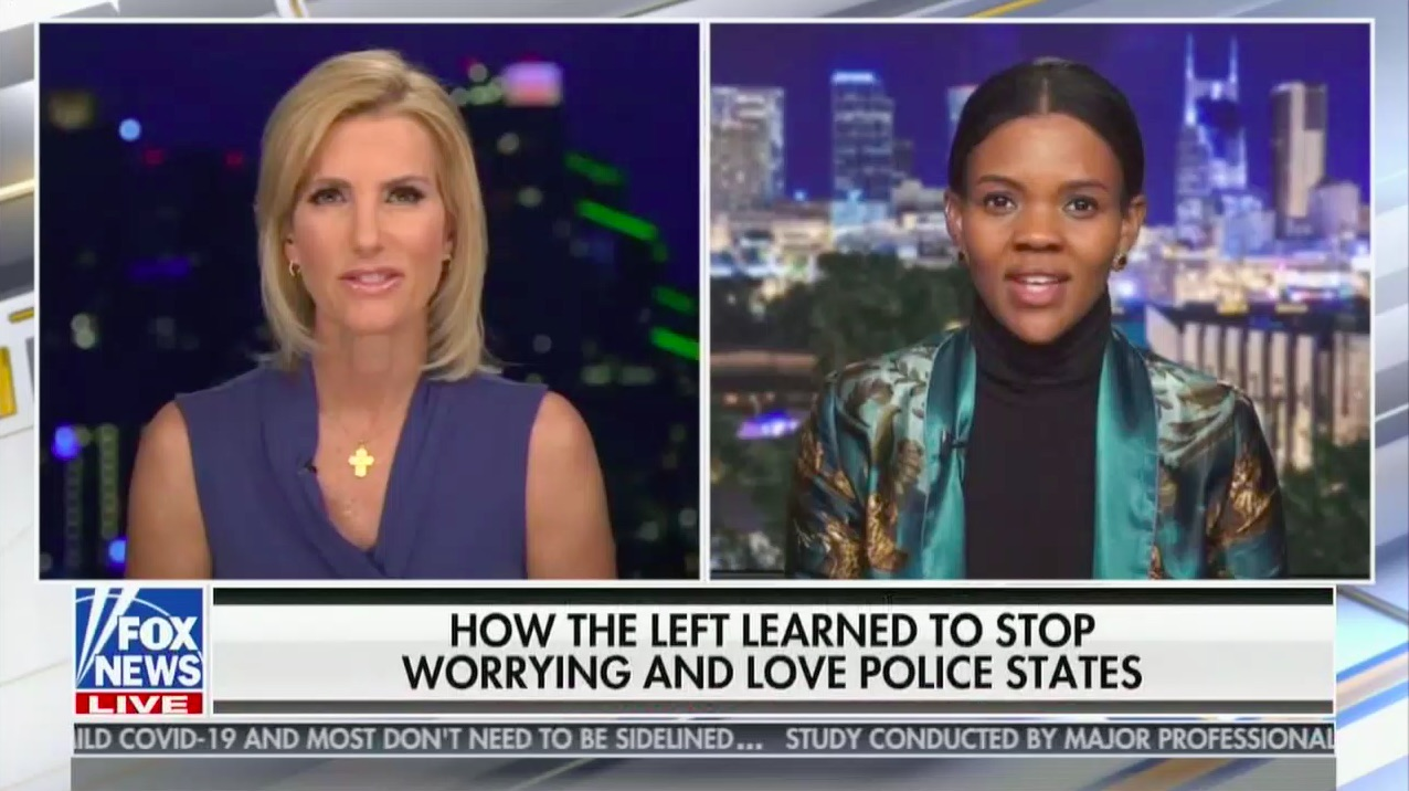 Candace Owens Tries to Rebrand QAnon Conspiracy as 'BlueAnon'