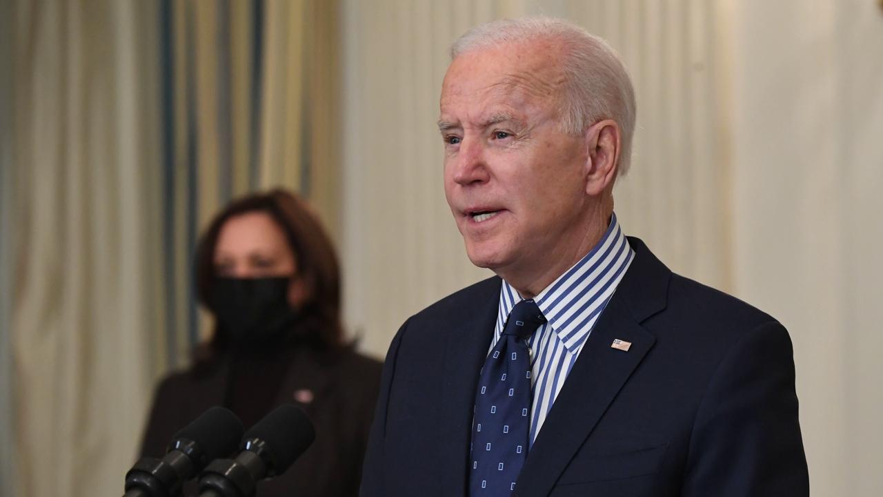 Joe Biden Addresses Senate Passage of Covid Relief Bill