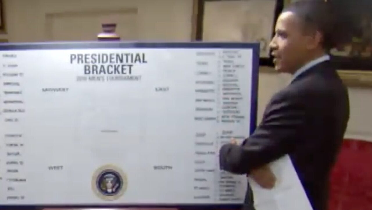 Obama's NCAA Tournament Bracket is Out, and He's Committed March Madness Heresy