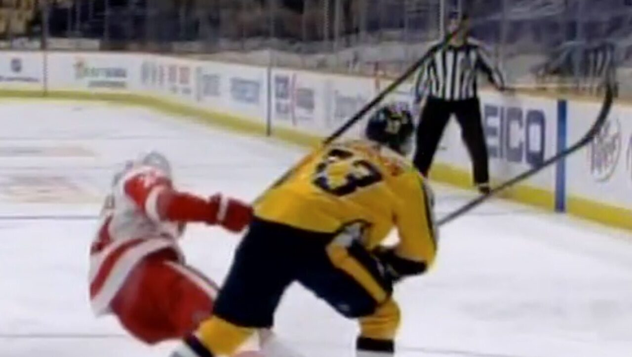 WATCH: NHL Ref Gets Busted on a Hot Mic Admitting He Wanted to Call a Bogus Penalty Against the Nashville Predators