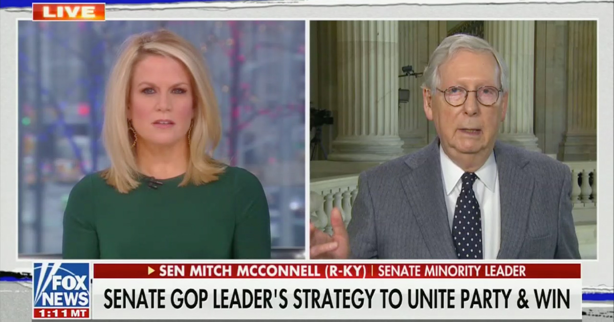 McConnell Dodges When Asked If He Regrets Condemning Trump After Riots