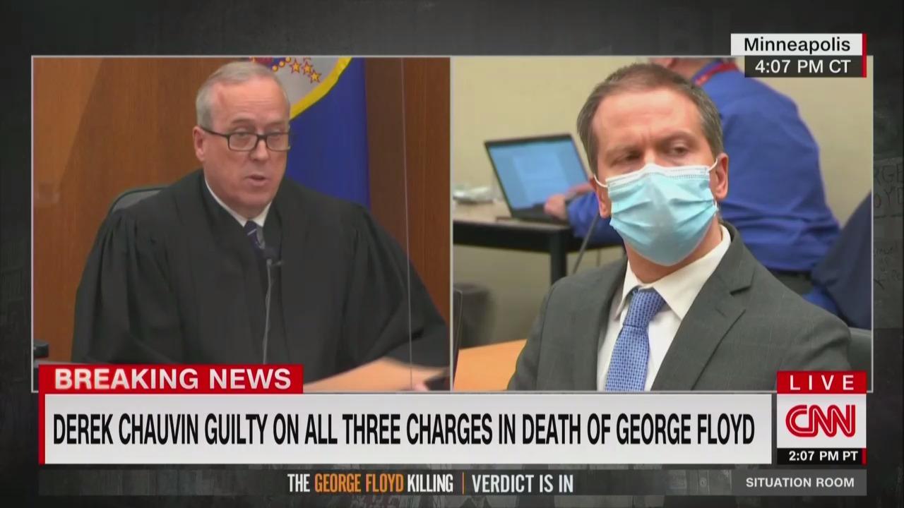 CNN's Coverage of Derek Chauvin Verdict Draws Most Viewers