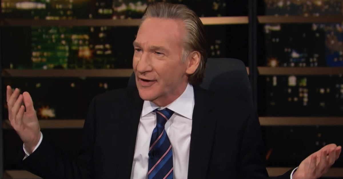 Bill Maher Has Meltdown Over Outdoor Mask Wearers: 'You F**king Moron!'