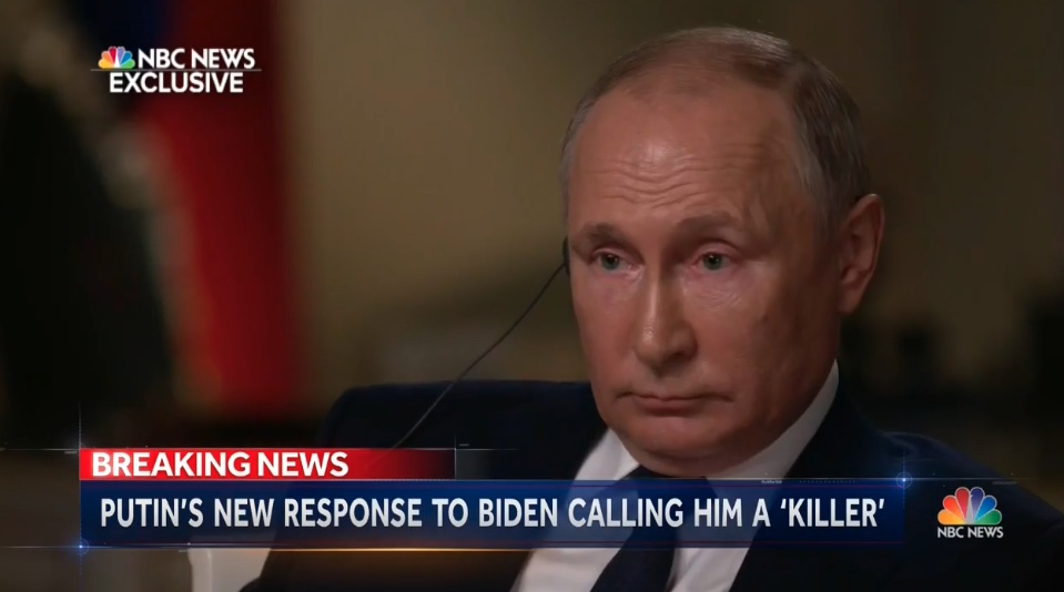 NBC's Keir Simmons Bluntly Asks Putin 'Are You a Killer?' in One-on-One Interview