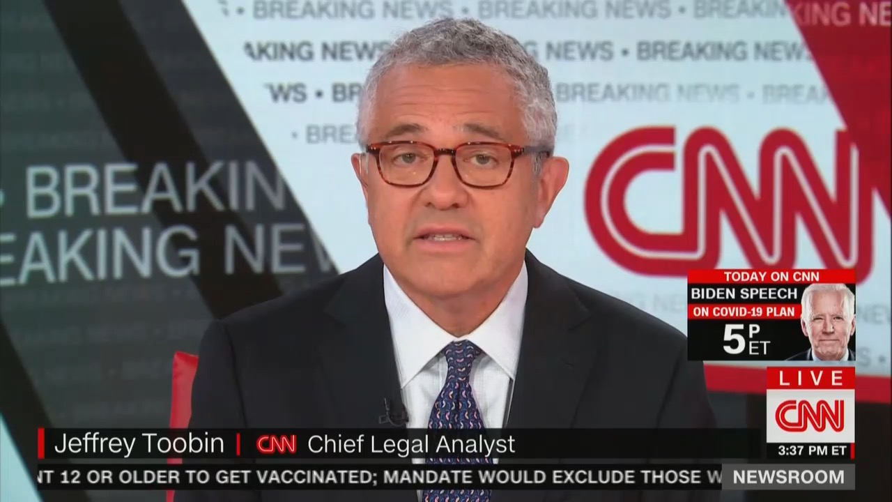 New Yorker Finally Fires Toobin. Why Didnt the Mag Sack
